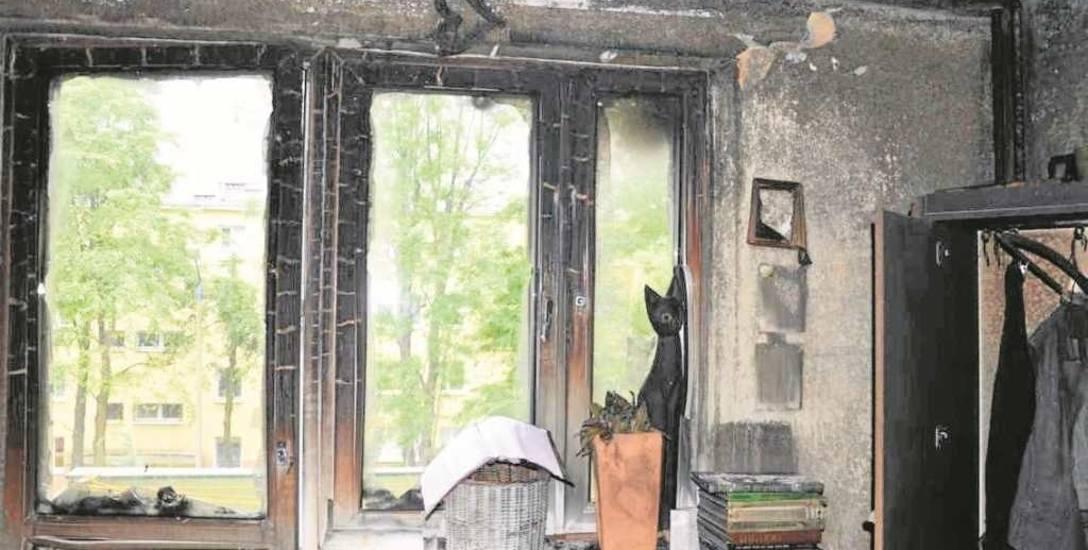 Tak wygląda mieszkanie Marzanny Stachurskiej po pożarze