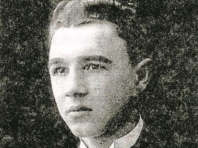 Alfons Łosiński, jeden z 50 zabitych członków BBON