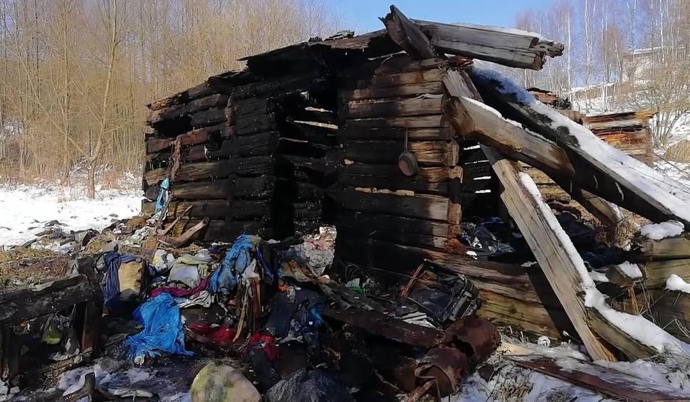 Film do artykułu: Łękawica. Tragiczny pożar. W spalonym domu odkryto zwęglone zwłoki