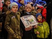 Protesty w sprawie reformy oświatowej odbyły się w dziesiątkach miast i setkach szkół w Polsce