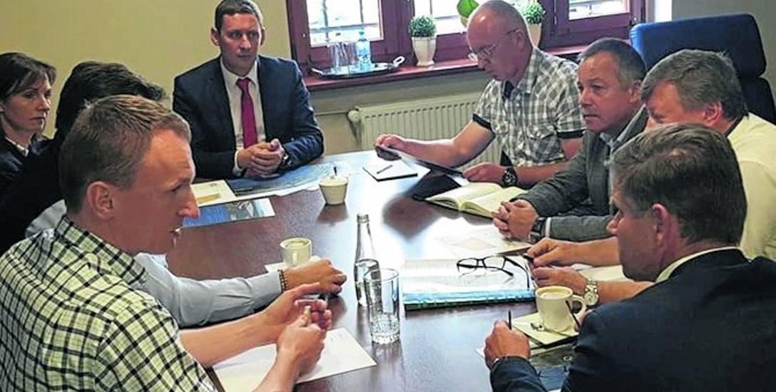 Często w urzędzie miejskim w Gubinie dochodzi do spotkań z potencjalnymi inwestorami. Pojawią się kolejni na tym terenie?