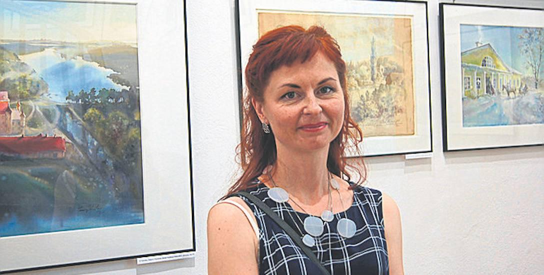 Olga Nowicka - akwarele pokochała dwa lata temu