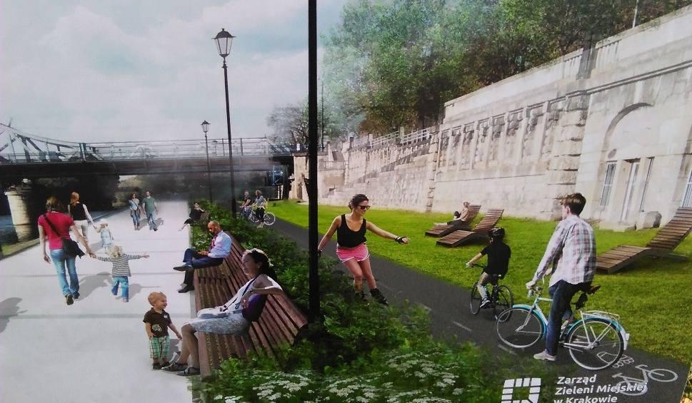 Film do artykułu: Kraków. Bulwary czeka przebudowa. Miasto ma koncepcję zagospodarowania nabrzeża Wisły [ZDJĘCIA]