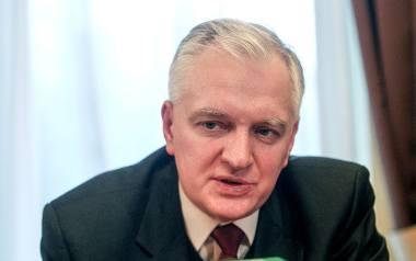 Jarosław Gowin - wicepremier, minister nauki, przewodniczący partii Polska Razem. W przeszłości był posłem Platformy Obywatelskiej, ministrem sprawiedliwości