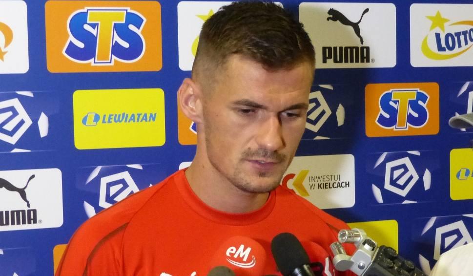 Film do artykułu: Kapitan Adnan Kovacević krytycznie o grze Korony w meczu z Pogonią. Za wolno, za mało biegania, za mało składnych akcji... [WIDEO]