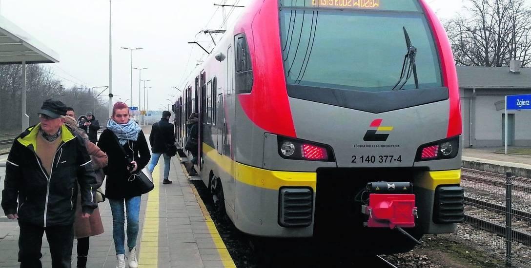 Bilety kupione w pociagach ŁKA byłyby ważne w autobusach miejskich w Zgierzu.