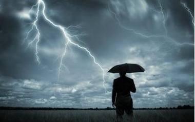 Nadciąga burza i deszcz! [MAPA BURZ]
