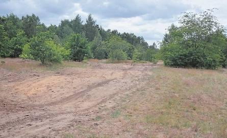 Teren po poligonie ma ok. 130 hektarów.
