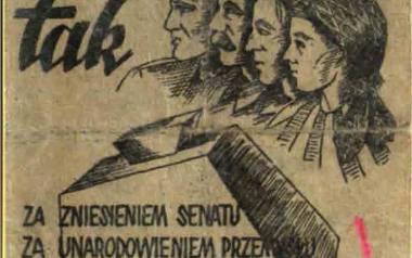 Znany historyk i cała prawda o referendum z 1946 roku