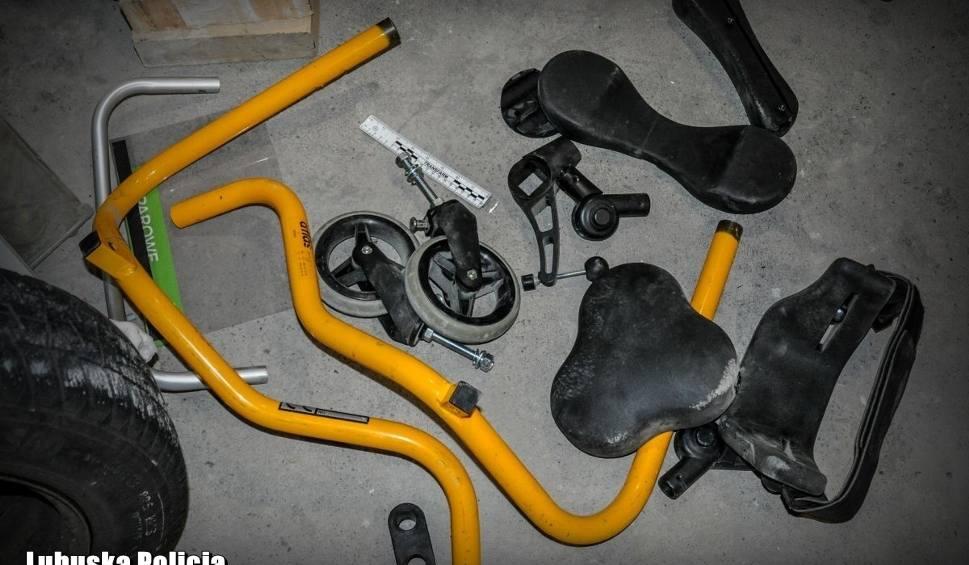 Film do artykułu: NOWA SÓL. Złodziej ukradł wózek inwalidzki i... rozkręcił go na części. Wart kilka tysięcy złotych sprzęt już się do niczego nie nadaje