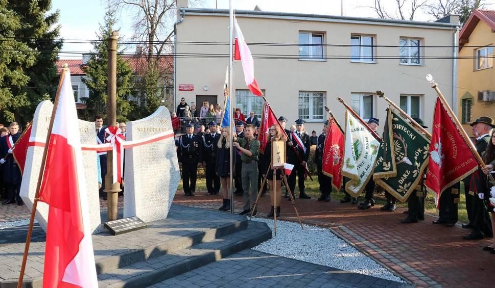 Film do artykułu: Uczcili rocznicę niepodległości przy słupie granicznym z zaborów w Radomyślu nad Sanem