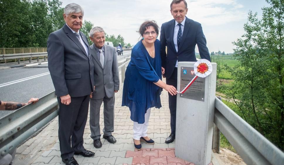 Film do artykułu: Most na Wiśle łączący Górkę w gminie Szczurowa i Sokołowice w gminie Koszyce nosi imię marszałka Marka Nawary