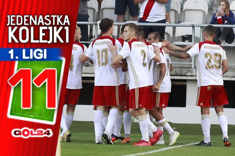 Jedenastka 4. kolejki Fortuna 1 Ligi według GOL24!
