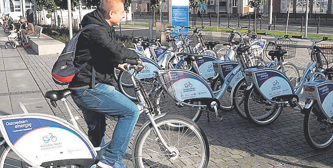 Wypożyczalnia roweru miejskiego w Koszalinie  cieszy się  dużym zainteresowaniem - do końca września zarejestrowano ponad 71 tys. wypożyczeń