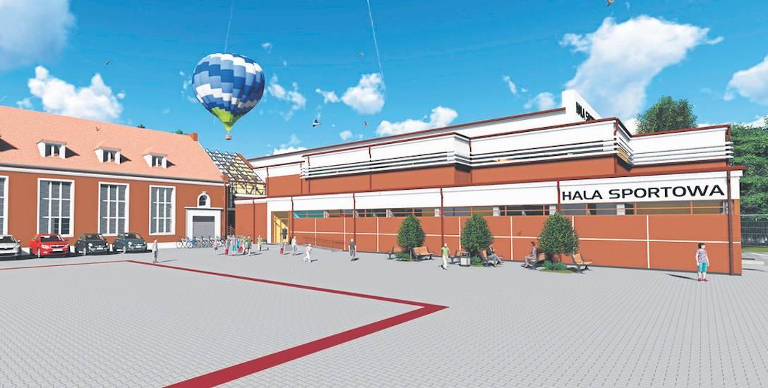 Wizualizacja nowej hali SP1, której budowa rozpocznie się wiosną, a ma zakończyć za dwa lata