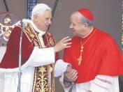 W maju 2006 r. papież Benedykt XVI odwiedził także Kraków