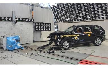 Pięć gwiazdek dla auta. Jak ocenia Euro NCAP?