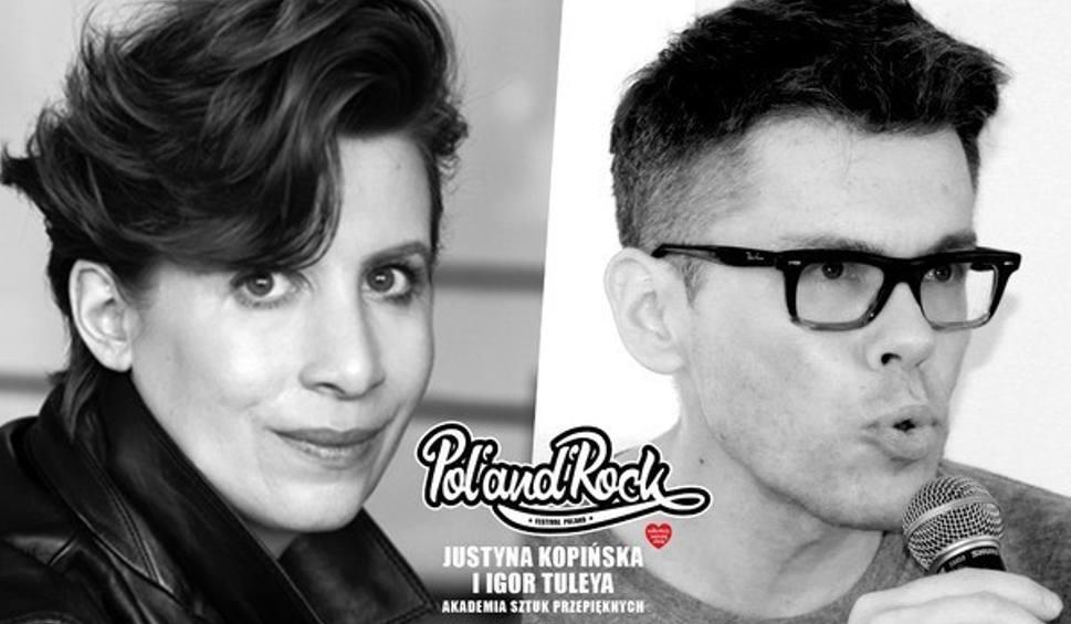 Film do artykułu: PolAndRock Festiwal 2019: Justyna Kopińska i Igor Tuleya gośćmi Akademii Sztuk Przepięknych