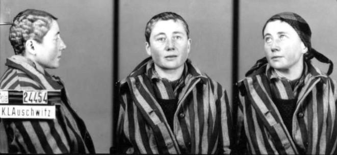 Irena Kotulska, zdjęcia z Auschwitz