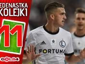 Hit Legia - Wisła jak z marzeń. Jedenastka 12. kolejki Lotto Ekstraklasy według GOL24 [GALERIA]