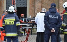 W Łużnej młody wikary ruszył na pomoc kościelnemu, który powiesił się w wieży