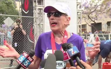 """94-latka przebiegła półmaraton. """"Czuję się tak, jak w wieku 16 lat"""""""