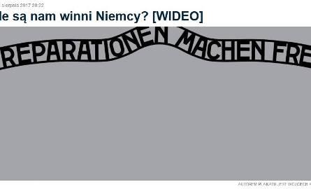 Grafika TV Republika. Muzeum Auschwitz-Birkenau: to prymitywne manipulacje