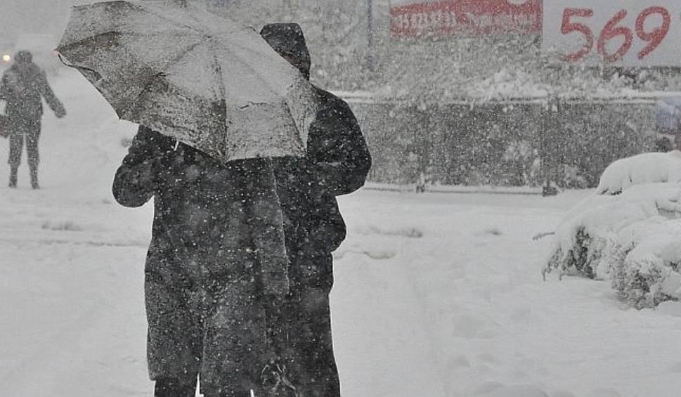 Film do artykułu: W sobotę intensywne opady śniegu w naszym regionie. Ostrzeżenie I stopnia
