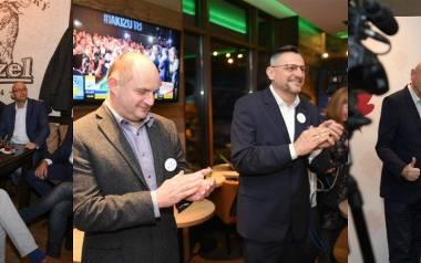 Czy Michał Zaleski spotka się w Tomaszem Lenzem w drugiej turze? Wczoraj podczas wieczorów wyborczych emocje były ogromne