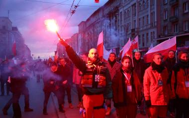 Marsz Niepodległości 2017 w Warszawie.