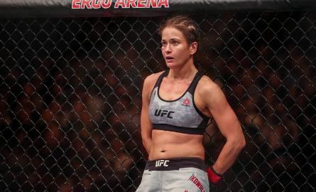 UFC Gdańsk, na zdjęciu: Karolina Kowalkiewicz