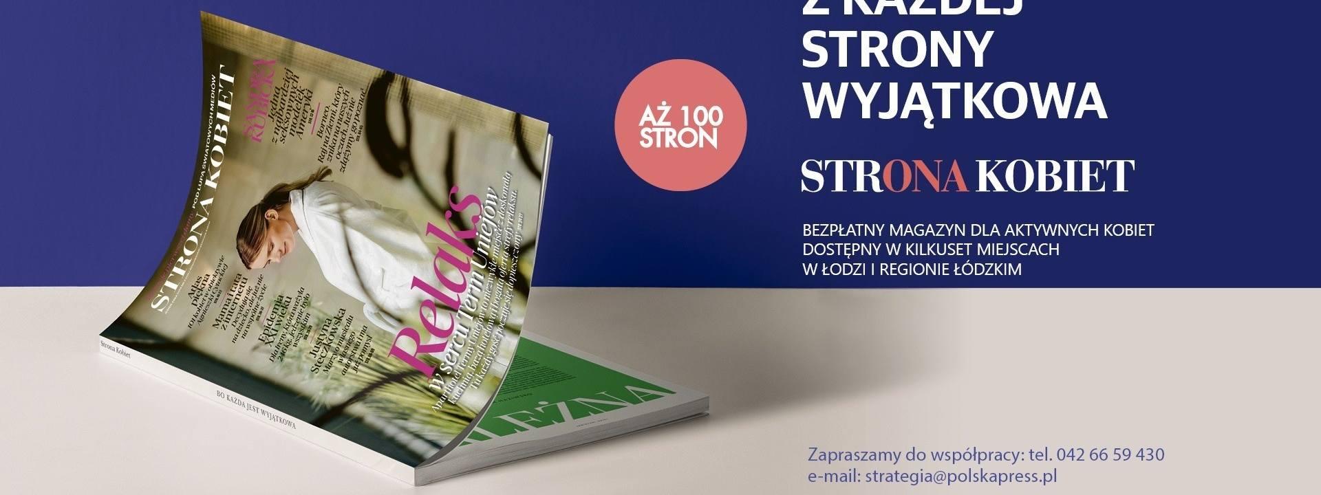 """Magazyn """"Strona Kobiet"""". Jest już drugi numer łódzkiego ekskluzywnego magazynu """"Strona Kobiet"""""""