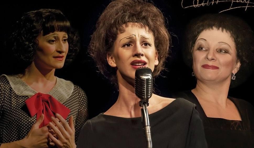 """Film do artykułu: [EVERGR.] Spektakl """"Trzy razy Piaf"""", hit, który Teatr Osterwy w Gorzowie będzie grał chyba do końca świata i o jeden dzień dłużej"""
