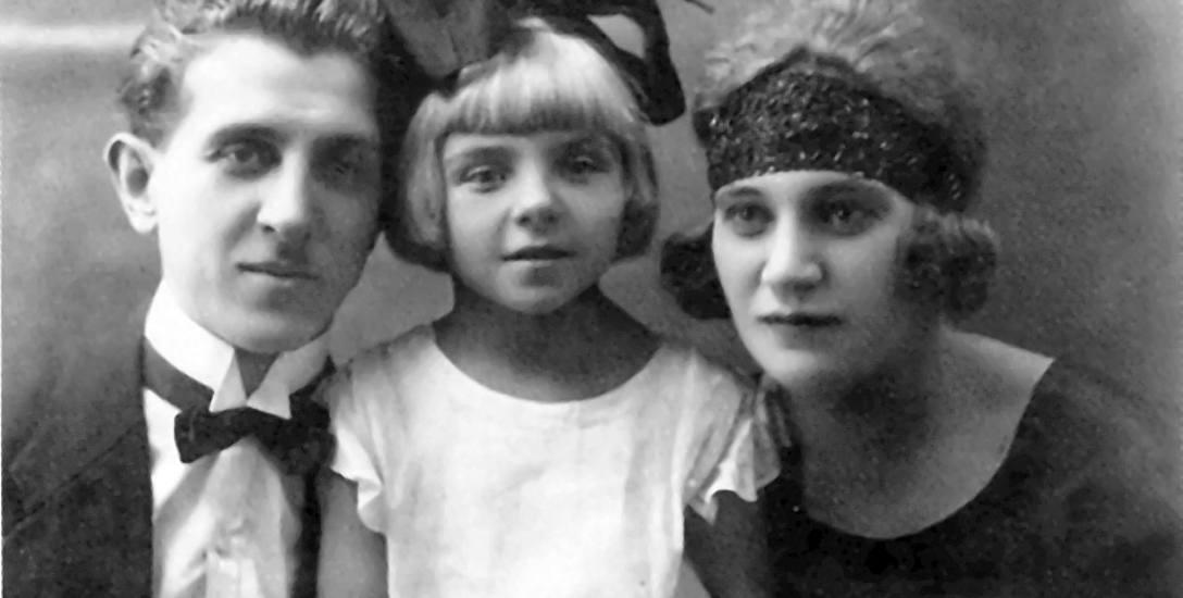 Jan Marcinkowski z pierwszą Lidią i córką Leokadią.