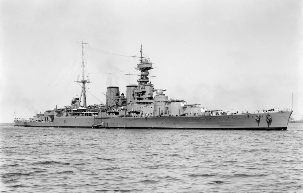 """HMS """"Hood"""" uchodził przed wojną za najbardziej reprezentacyjny okręt Królewskiej Marynarki Wojennej"""