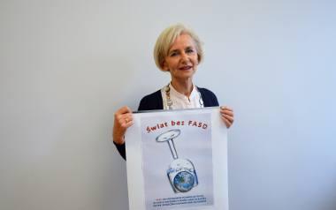 - Wierzę, że świat bez FASD jest możliwy, ale żeby się taki stał, niezbędna jest profilaktyka - przekonuje Barbara Słomian.