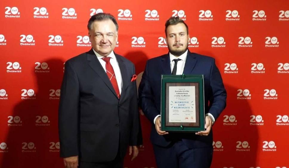 Film do artykułu: Konrad Jóźwik z Szydłowca zajął trzecie miejsce w Mazowieckich Barwach Wolontariatu