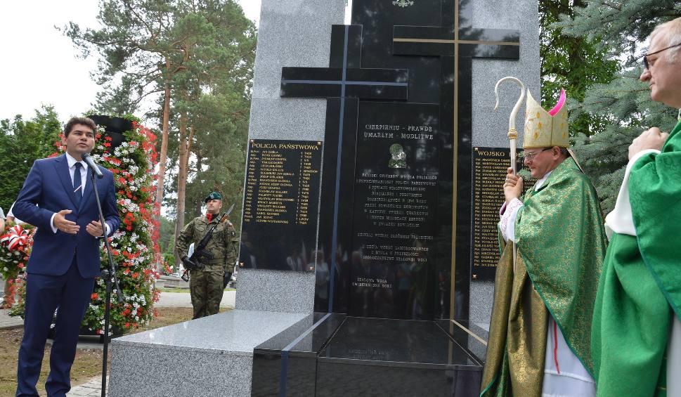 Film do artykułu: Stalowa Wola. Pomnik ofiar Katynia stanął w mieście