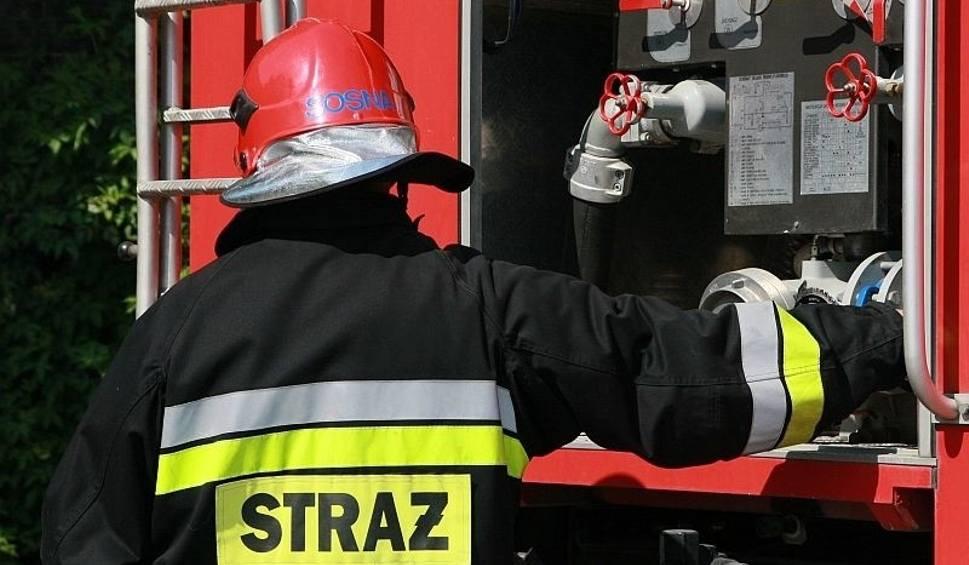 Przyczyną Pożaru Domu W Bielicach Mogło Być Zaprószenie Ognia