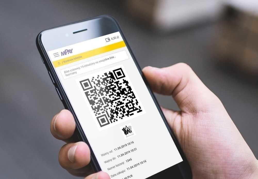 Zakup biletu za pomocą aplikacji mPay
