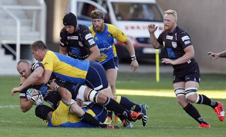 Na meczach rugby takie starcia nie należą do rzadkości