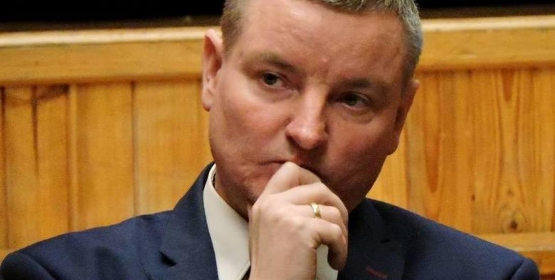 Jarosław Borowski, burmistrz Bielska Podlaskiego ma nadzieje, że przyszłoroczny budżet - choć bardzo napięty - jest nie tylko ambitni, ale też realn