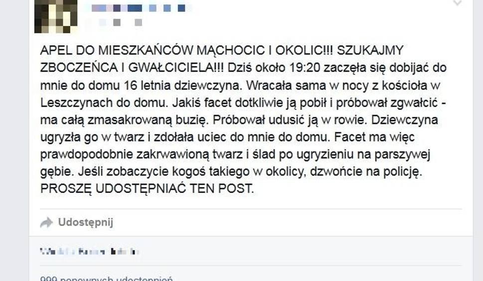 Film do artykułu: Brutalna napaść na nastolatkę w powiecie kieleckim