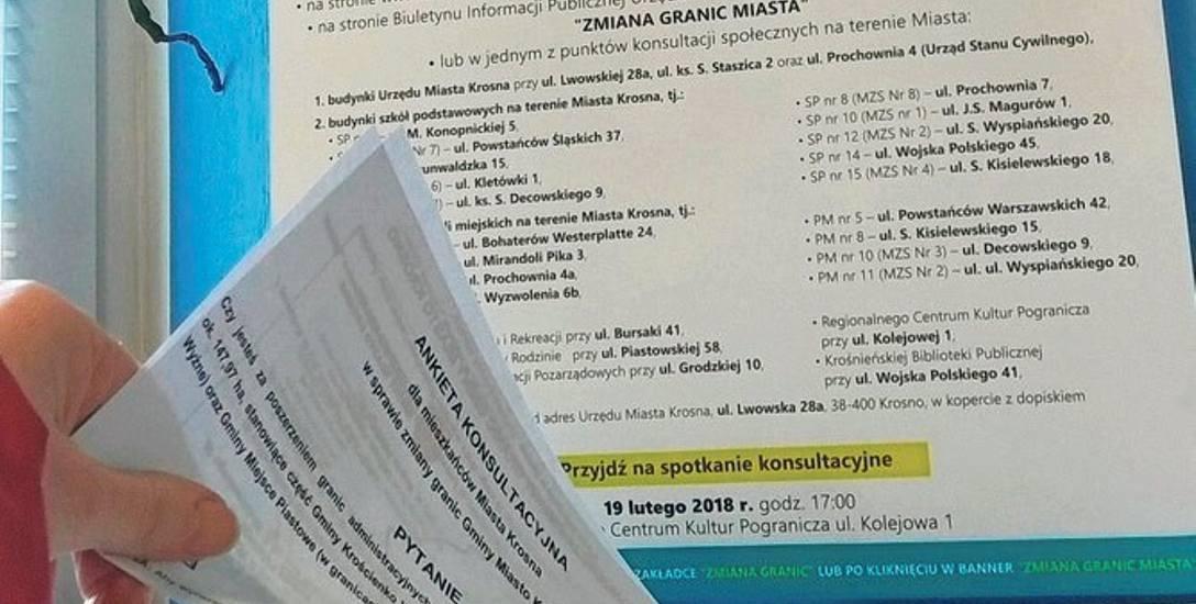 Konsultacje w Krośnie trwają już od 14 lutego