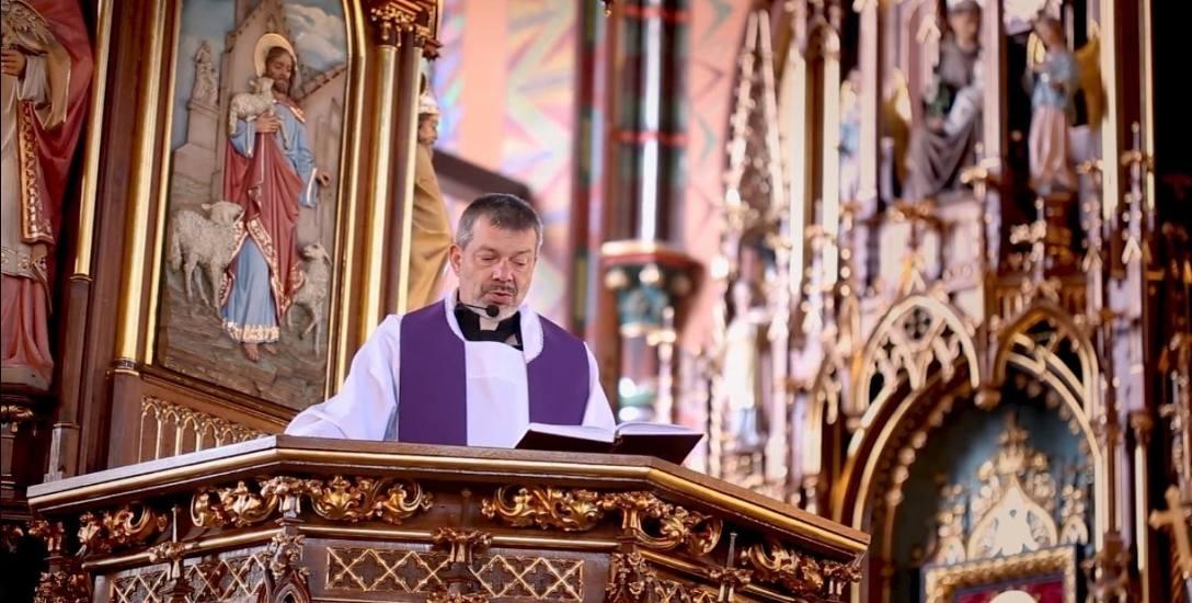 Sosnowiec: rekolekcje na You Tube prowadzi ksiądz Andrzej Cieślik, proboszcz parafii św. Joachima w Sosnowcu.