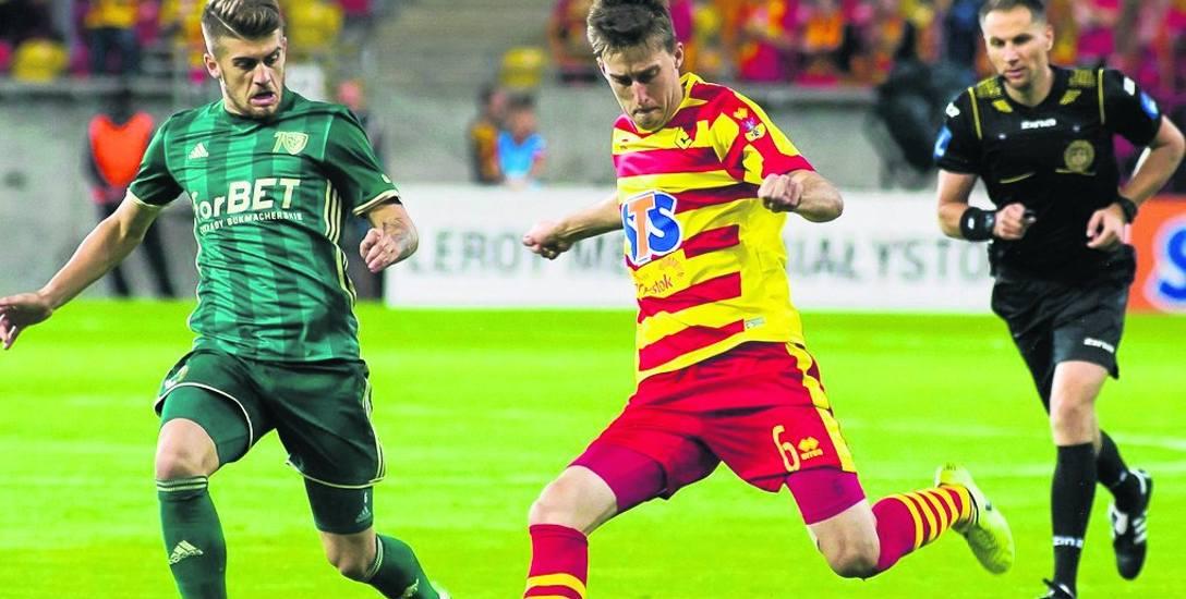 Taras Romanczuk z powodu urazu jakiego doznał w meczu ze Śląskiem nie zagra przez dwa tygodnie