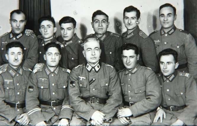 Żołnierze Legionu Ormiańskiego w Puławach