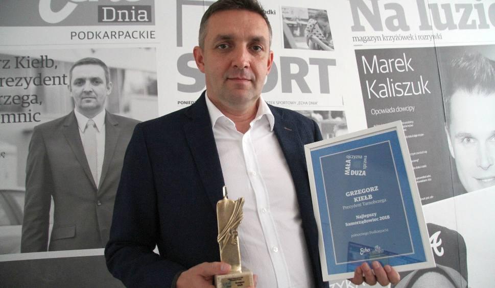 Film do artykułu: Samorządowiec Roku 2018 Grzegorz Kiełb: - Powstanę kolejny raz i wygram. Ja się nie poddaję. Nigdy
