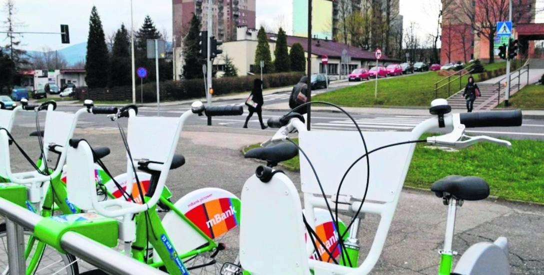 Czy w Bielsku-Białej będzie można korzystać z rowerów miejskich? Nie wiadomo. Przetarg się opóźnia