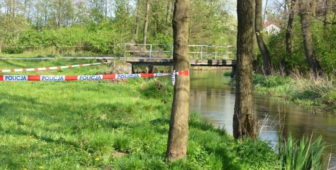 Ciało dziewczynki znaleziono w rzece Krztynia, w miejscowości Grabiec. To gmina Szczekociny